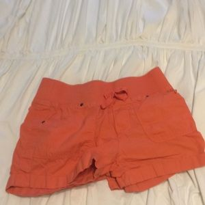 Kids orange shorts